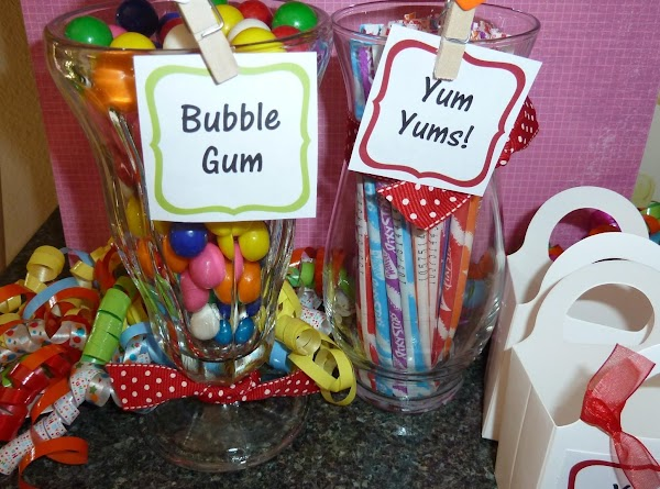 How To Set Up A Candy Buffet! Recipe