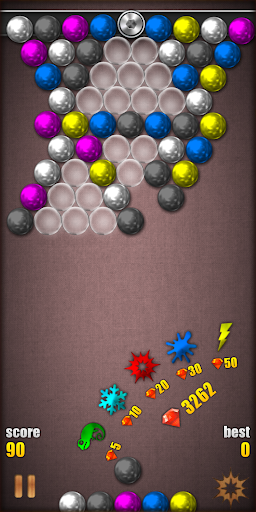 Magnetic Balls HD Free: Match 3 Physics Puzzle 2.2.0.9 screenshots 2