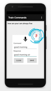 Jarvis artificial intelligent personal assistant Screenshot