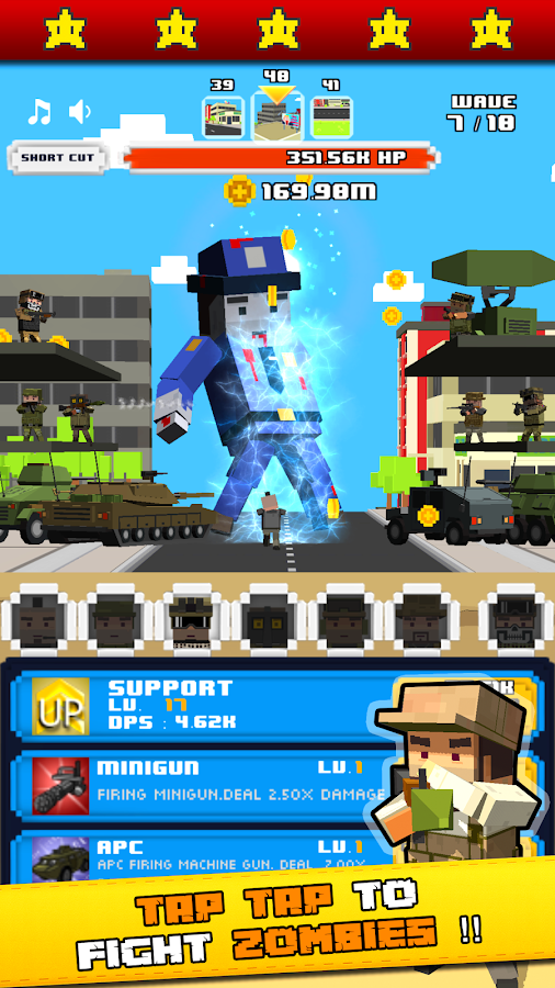Tap Zombies - Hero Idle Titans- screenshot