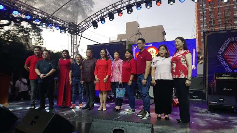 Chinese New Year Celebration in Quezon City's Chinatown