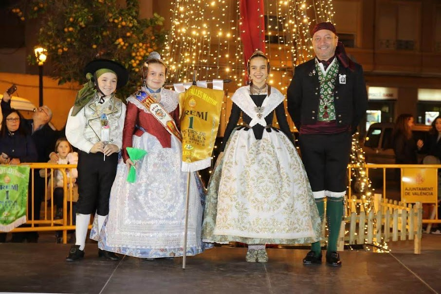La Agrupación de Fallas del Marítimo entregó sus premios de Belenes.