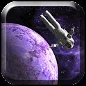 3D Galaxy Astro Live Wallpaper icon