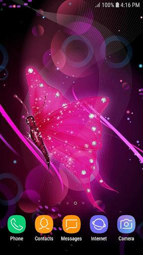 Glitter Butterfly Wallpaper by Foka (Google Play, United