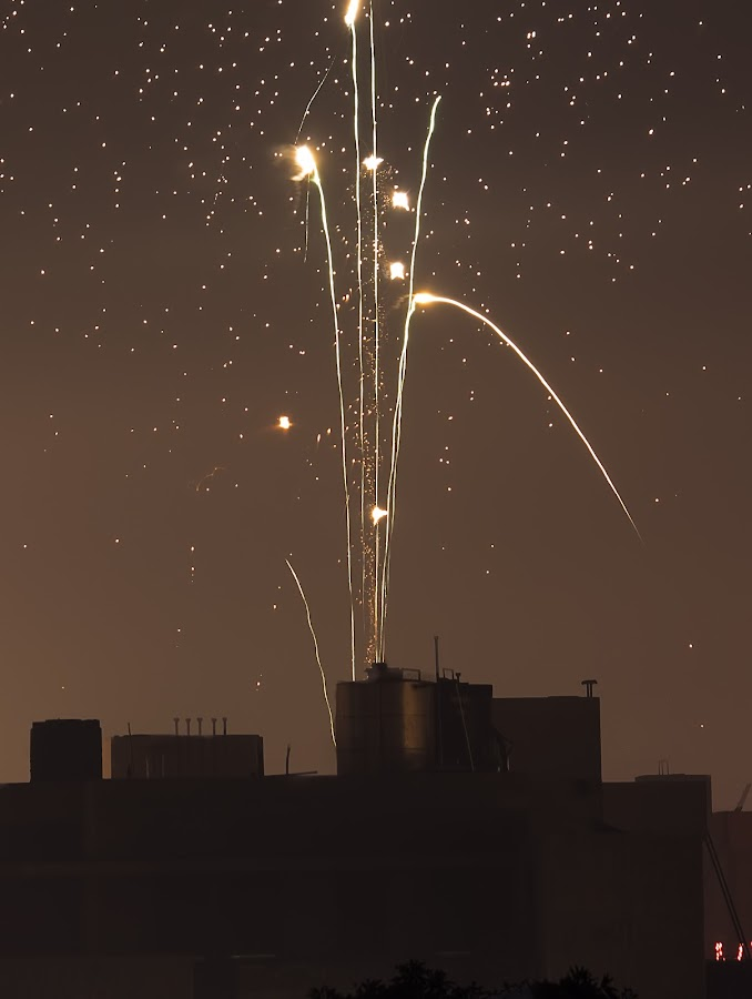 Skyshot by Sushant Jain - City,  Street & Park  Street Scenes ( 55-250mm, canon, diwali, night, skyshot )