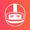 Liberty Rider : Détection d'accident et GPS Moto icon