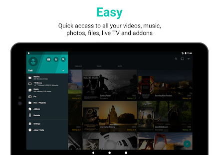 Yatse: Kodi remote control and cast Screenshot