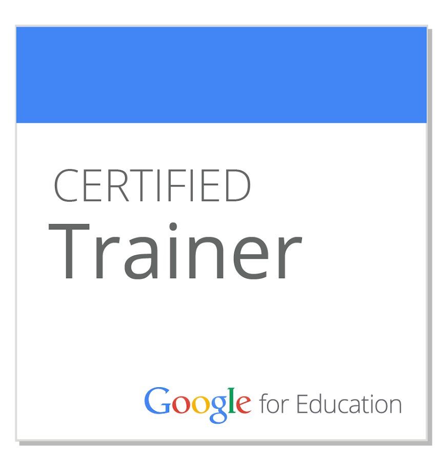 Google for EDU Certified Trainer