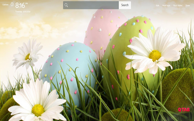 Easter Wallpapers Theme |GreaTab