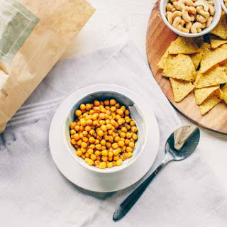Roasted Spicy Chickpeas Recipe