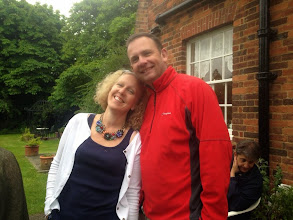 Photo: Emma and hubby