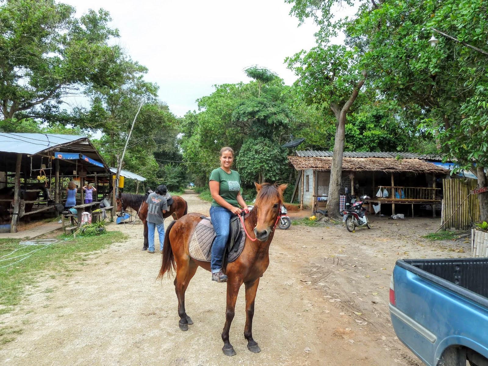 Krabi Horse Riding at Ao Nam Mao Beach