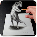 Drawing 3D Art icon