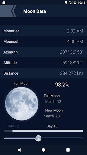 The Moon - Phases Calendar screenshot 4