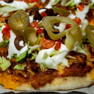 Mexican Pizza With Pizza Dough Recipes.
