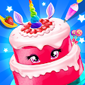 Birthday Cake - Unicorn Food Fever icon