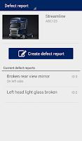Screenshot of Scania Fleet Management