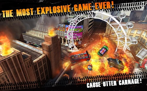 Traffic Panic London- screenshot thumbnail