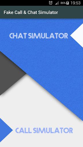 Fake Call Chat