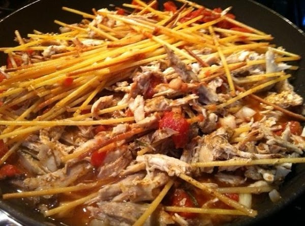 ADD COOKED CHICKEN (CHOPD OR SHREDD) TO PAN. ADD CUMIN, CHILI POWDER, S &...