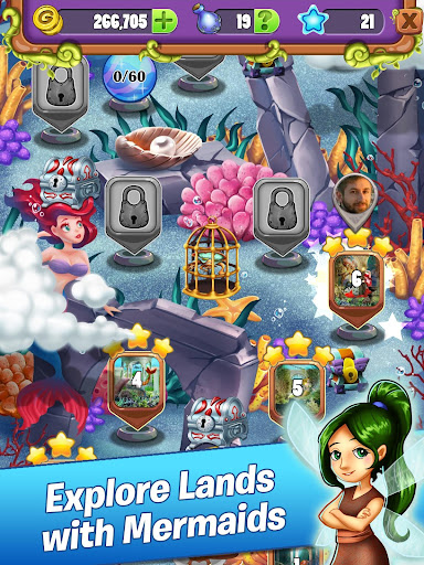 Mahjong - Mermaid Quest - Sirens of the Deep 1.0.41 screenshots 2