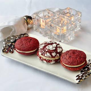 Red Velvet Cream Cheese Cookies.