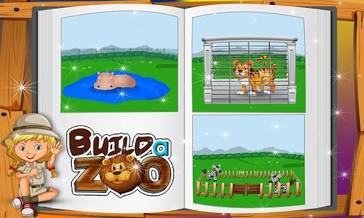 Build a Zoo & Repair it: Fun Construction Game - náhled