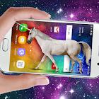 Unicornio en pantalla: Broma de relinchos icon