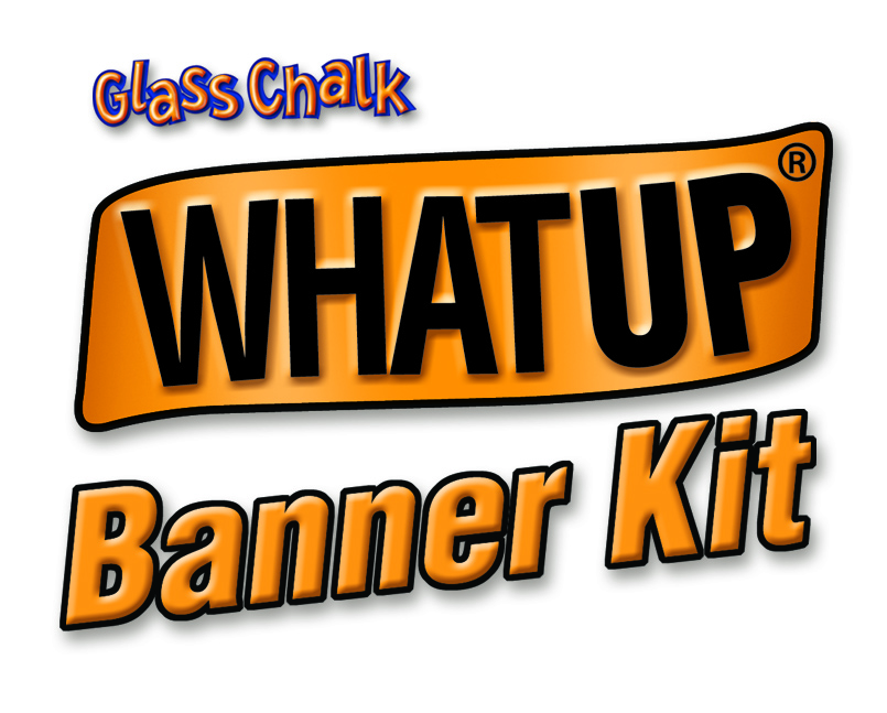 WHATUP Banner Kit Logo