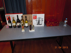 Photo: Trophies and Gifts at the Whist