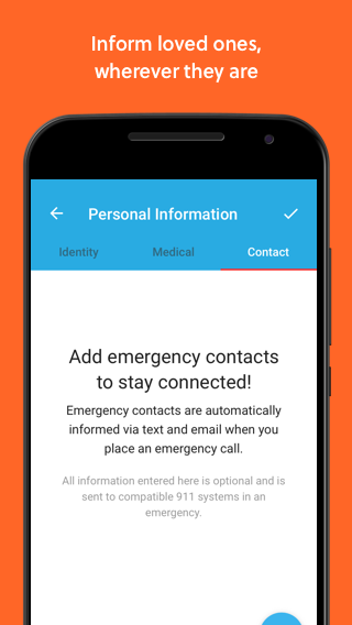 RapidSOS Haven - Emergency App- screenshot