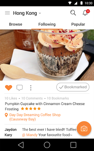 OpenSnap: Photo Dining Guide