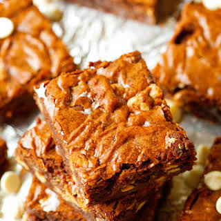 One Bowl White Chocolate Chip Brownies.