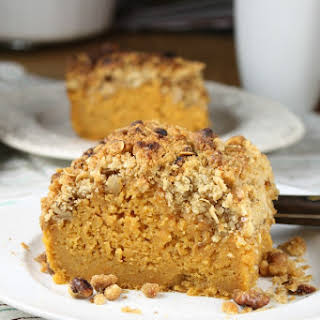 Sweet Potato Bars with Streusel Topping.