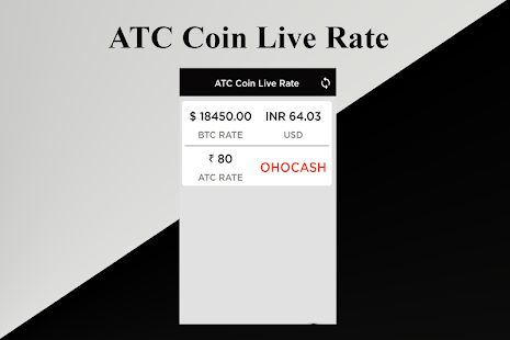 ATC Coin Live Rate - náhled