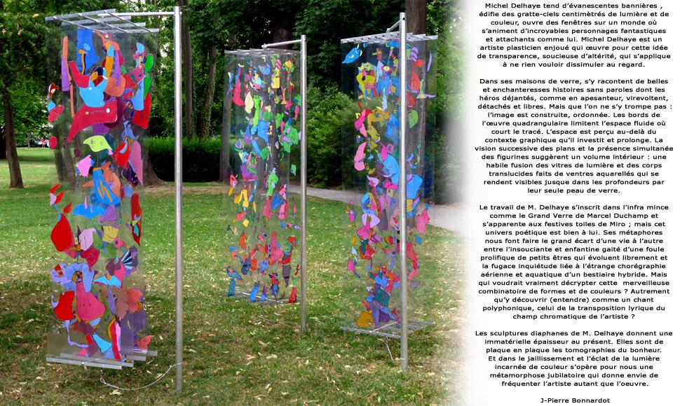 Photo: Quand on parle de Michel Delhaye, c'est tout en transparence et en couleurs! Quand l'altuglas est roi! http://artcliko.com/press http://artcliko.com/micheldelhaye