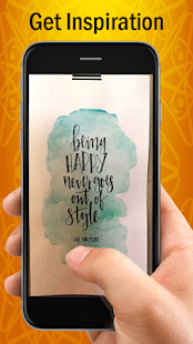 Hand Lettering Quotes - náhled