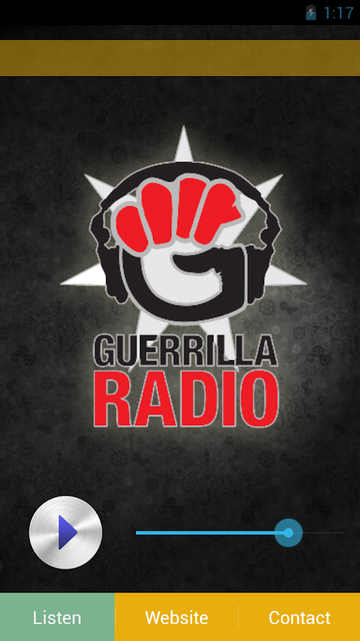 Guerrilla Radio- screenshot