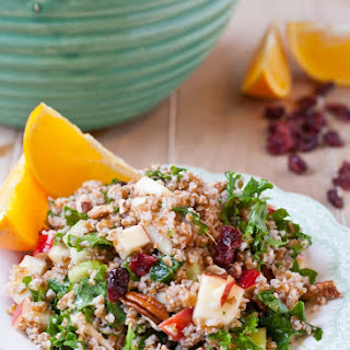 Powerhouse Bulgur Salad with Orange Vinaigrette.
