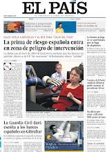 Photo: La prima de riesgo entra en zona de peligro de intervención, la Guardia Civil dará escolta a los barcos españoles en Gibraltar y el emocionado adiós a Carlos Fuentes, en nuestra portada del jueves 17 de mayo http://cort.as/2_6g