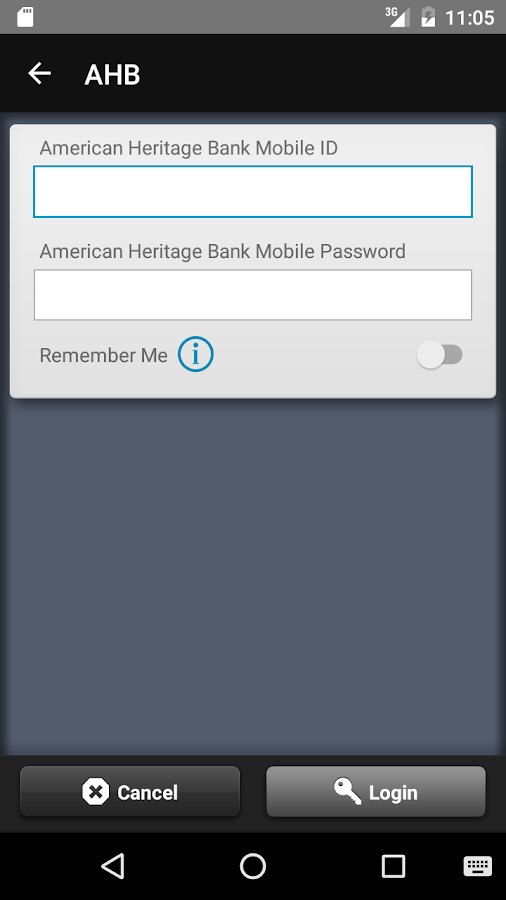 American Heritage Bank OK- screenshot