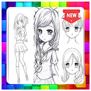 How to Draw Anime Girls by tasukiapps icon
