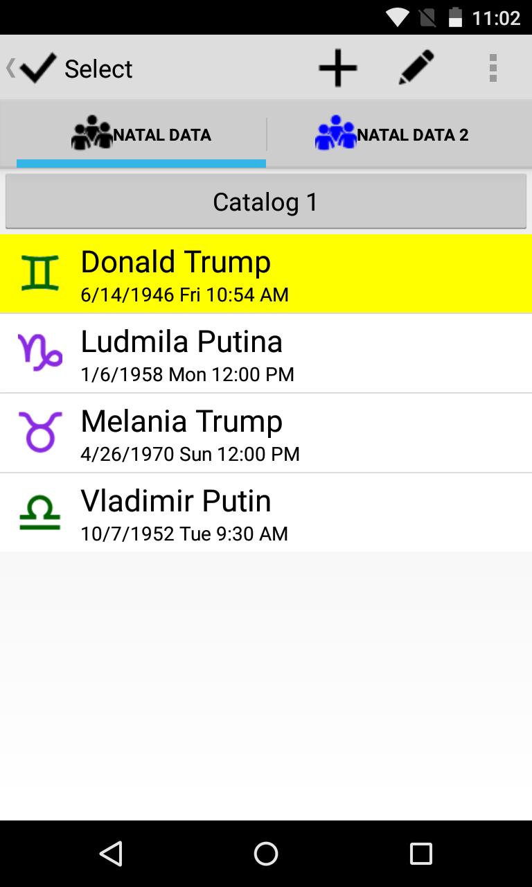 Astrological Charts Pro Screenshot 6