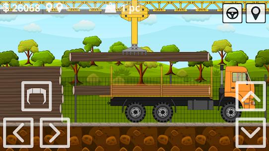 Mini Trucker 2D offroad truck simulator MOD (Unlimited Money) 4