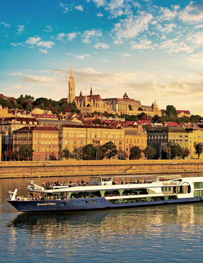 Avalon-Vista-Danube - Enjoy European charm on Avalon Vista while cruising the Danube with ports of call that include Budapest, Hungary.