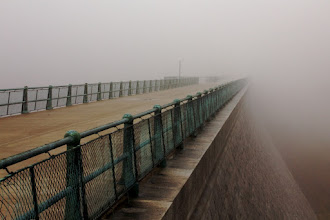 Photo: Wachusett Walkway  The Wachusett Reservoir is a frequent subject, but it's a bit of a hike from my home and I don't particularly like driving in the fog. I sucked it up and grabbed a few moody shots.  #365Project curated by +Simon Kitcher