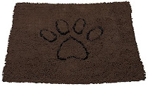 Dog Gone Smart Dirty Dog Doormat - Brown, Medium