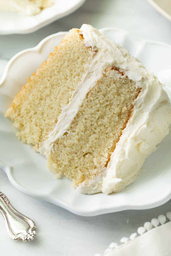 The Best Gluten Free Vanilla Cake Recipe