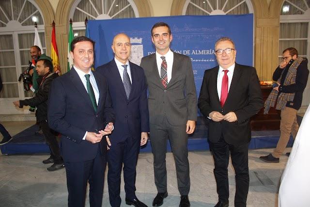 Javier Aureliano García, Diego Martínez Cano, Ramón Fernández-Pacheco y Pedro M. de la Cruz.