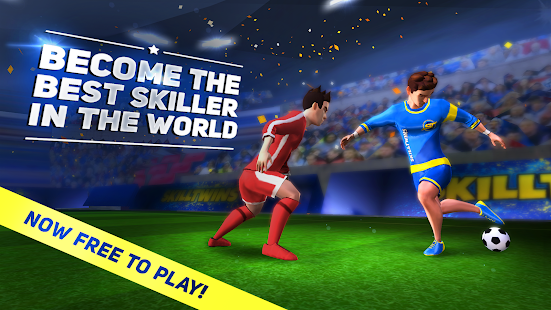 SkillTwins Football Game 2 Screenshot